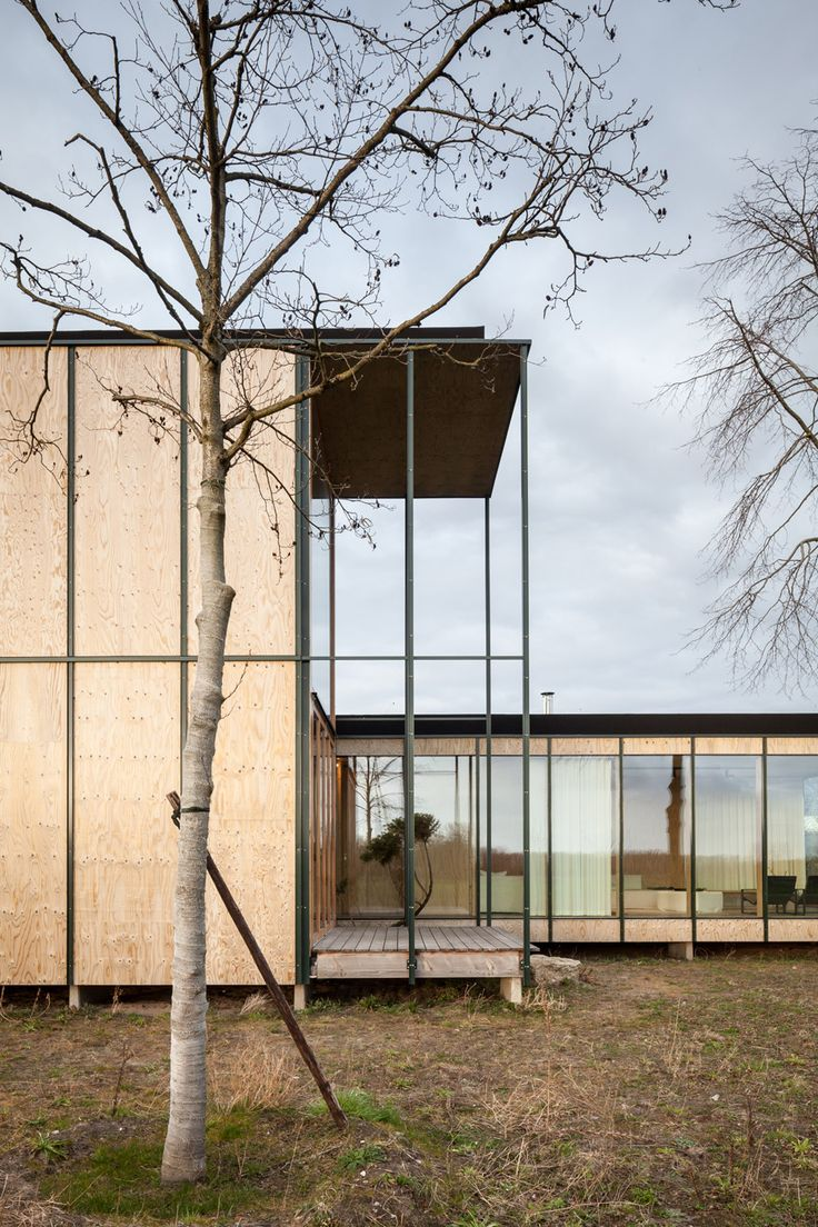 Belgian holiday house inspired by Japanese architecture