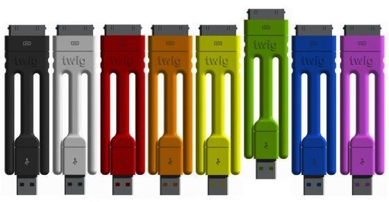 iPhoneのUSBケーブルに三脚などの付加価値を『Twig』 - #RyoAnnaBlog