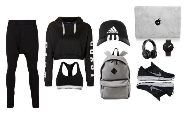"""""""Untitled #5"""" by laviniasofia ❤ liked on Polyvore featuring Topshop, Rosendahl, NIKE, adidas, Beats by Dr. Dre, Calvin Klein, women's clothing, women, female and woman"""