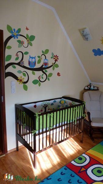 Babaszoba falmatrica dekoráció egyedi tervezéssel, Baba-mama-gyerek, Dekoráció…