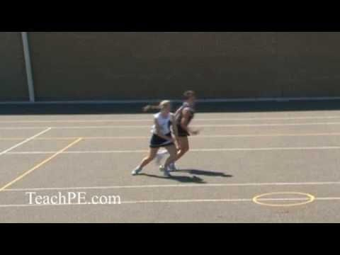 Netball - Attacking Movement - The Half Turn