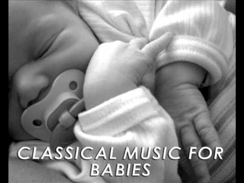 Classical Music for Babies : Bedtime Sleeping Music, Baby Relaxing Music and Lullabies. A link to over an hour of music for babes.