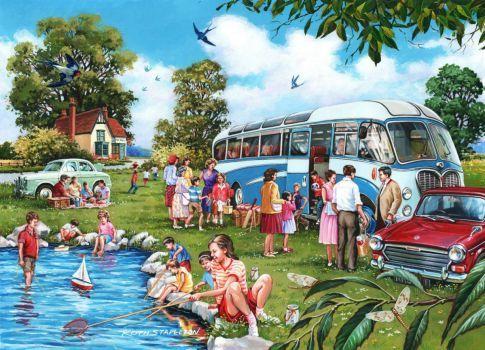 The Coach Trip (88 pieces)Image copyright: Keith Stapleton