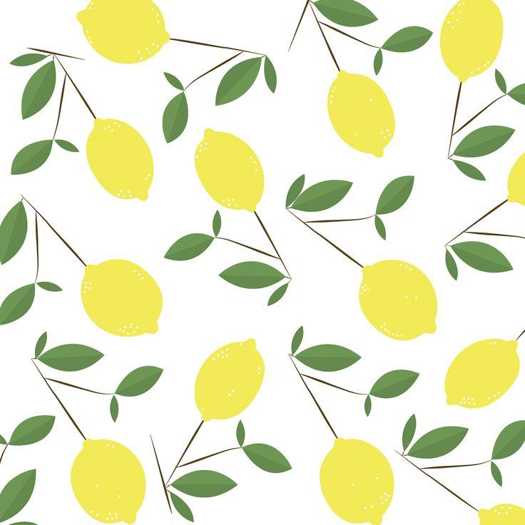 "Check out my @Behance project: ""Lemon Pattern"" https://www.behance.net/gallery/47248239/Lemon-Pattern"