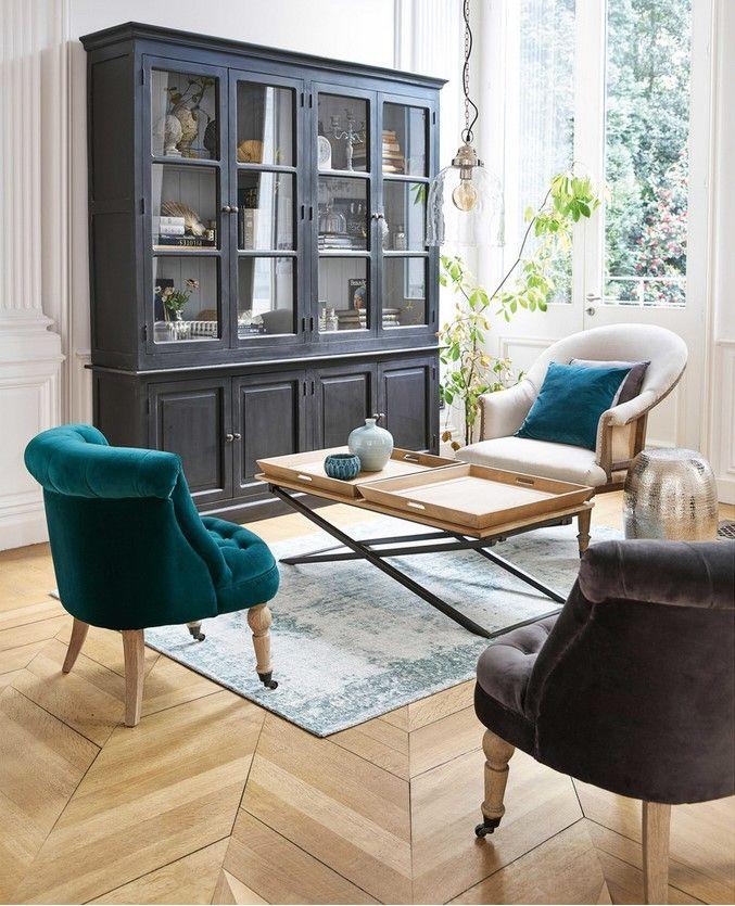 Noir Eclipse Oval Coffee Table: 224 Best Maisons Du Monde Images On Pinterest