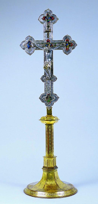 Massa Marittima, Museo di Arte Sacra: croce reliquiario del legno della Santa Croce #InvasioniDigitali il 27 aprile alle ore 10.30 Invasore: Vanda Peccianti