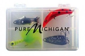 Gear up for fall fishing in Michigan with these items from the Pure Michigan online store.: Fish Lures, Products Fish, Fish Trips, Outdoor, Fish Gears, Lures Kits, Lures Cases, Fishing Lures, Fall Fish