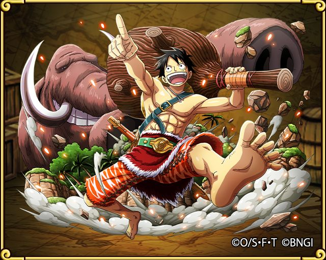 Monkey D Luffy Pioneer Of Land One Piece Treasure Cruise Wiki Fandom Powered By Wikia One Piece Luffy One Piece Manga One Piece Games