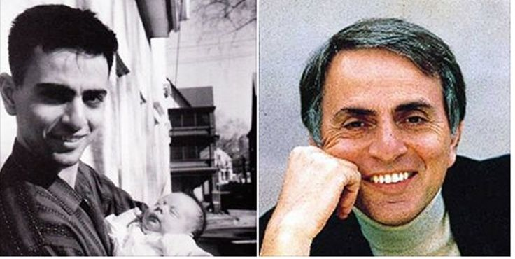 Carl Sagan ~ Born Carl Edward Sagan November 9, 1934 in Brooklyn, New York, US. Died December 20, 1996 (aged 62) in Seattle, Washington, US. American astronomer, cosmologist, astrophysicist, astrobiologist, author, science popularizer, and science communicator in astronomy and other natural sciences. His contributions were central to the discovery of the high surface temperatures of Venus. However, he is best known for his contributions to the scientific research of extraterrestrial life
