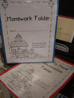 Folders to get ready for first day of schoolGood Ideas, First Years Teachers Ideas, Schools Ideas, Old School, Homework Folders, Teaching Ideas, Homework Folder Ideas, Schools Years, Classroom Organic