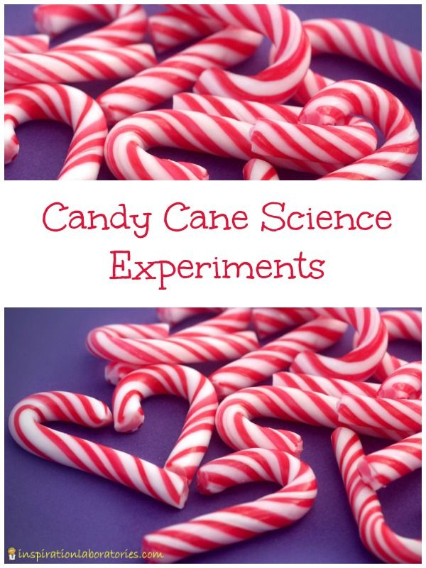 Candy Cane Science Experiments0