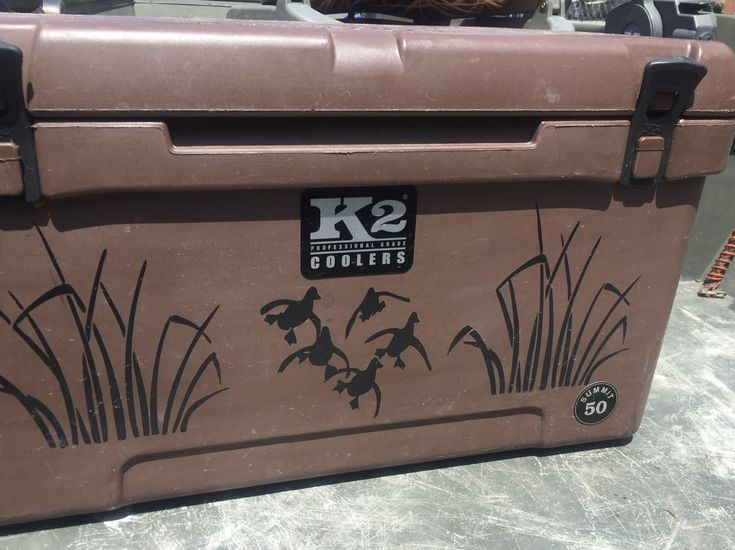 Duck hunting cooler sticker by gadarlinboutique on Etsy https://www.etsy.com/listing/239904330/duck-hunting-cooler-sticker