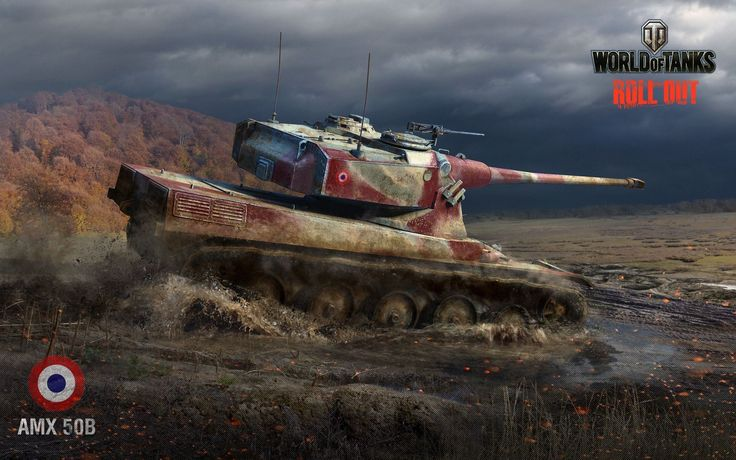October Wallpaper: the AMX 50B - Announcements - World of Tanks ...