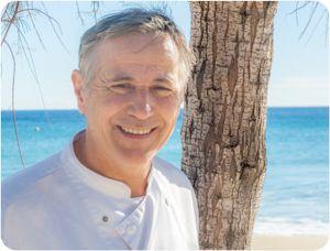 Bistr'Eau Ryon, restaurant situé au Lavandou Plage de Saint Clair et dirigé par son chef, Alain Ryon
