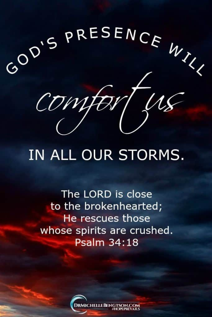When You Need Comforting With Images Encouraging Scripture
