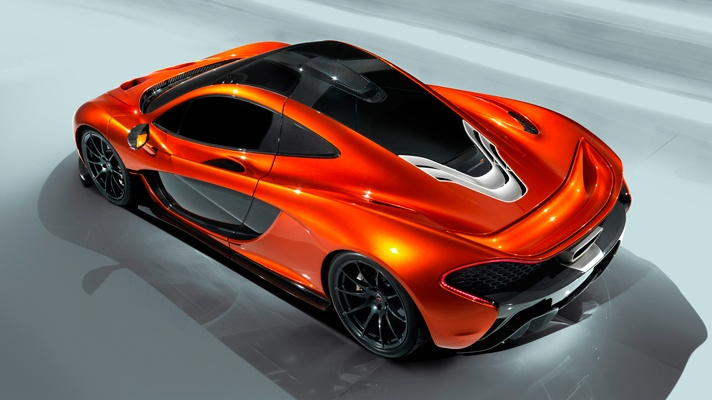 McLaren P1 wheels