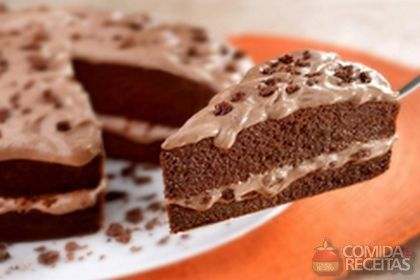 Receita de Bolo de cream cheese e Ovomaltine em receitas de bolos, veja essa e outras receitas aqui!