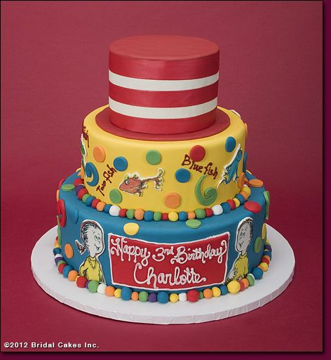 dr suess cakes   gallery birthday dr seuss dr seuss themed cake ...