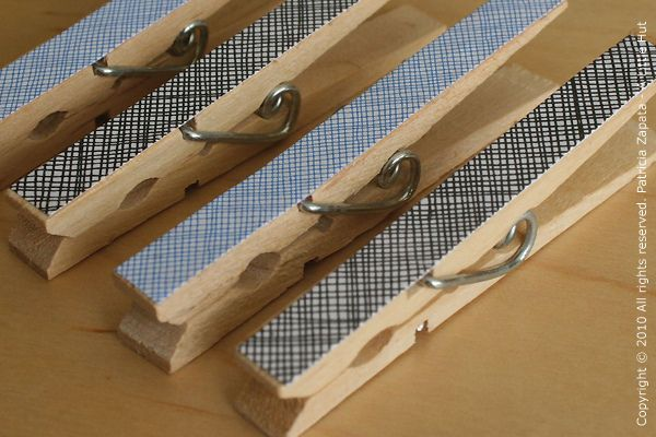 security envelopes project - clips by A Little Hut, via Flickr
