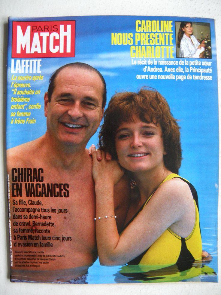 Claude Chirac et Jacques Chirac