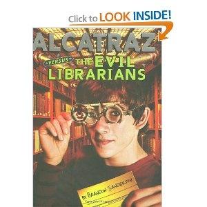 Alcatraz 1 Alcatraz Versus The Evil Librarians Brandon