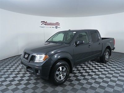 EASY FINANCING! 72475 Miles Used Gray 2010 Nissan Frontier PRO-4X Pickup Truck