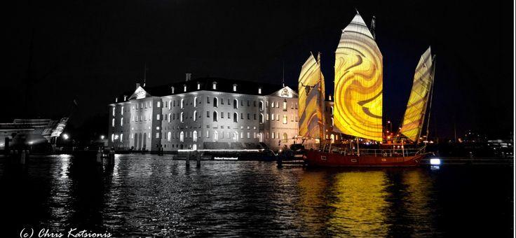 Travel in Clicks: Santiano in Amsterdam Light Festival