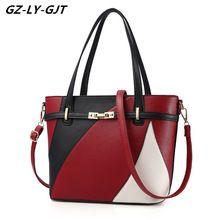GZ-LY-GJT asa Superior Bolsa de Mujeres de Los Bolsos de Moda de Cuero de LA PU Famoso Diseñador de la Marca Linda Época Muchachas Mujer Bolsos de Hombro de Lujo(China)