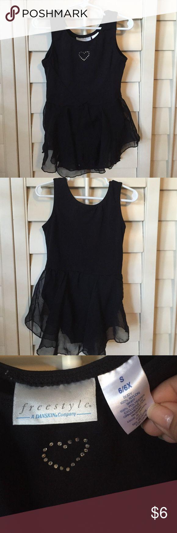Black dance leotard Cute black leotard with skirt attached. Other