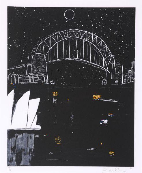 Sydney Night Full Moon, Ken Done (1997)