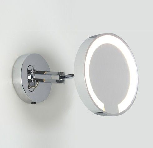 Catena  is a modern illuminated bathroom vanity mirror from Astro Lighting   Featuring a circular base plate in a polished chrome finish  with an  extendable. 17 best ideas about Magnifying Mirror on Pinterest   Make up