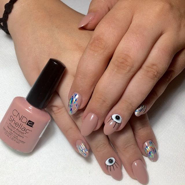 Best 25+ Evil Eye Nails Ideas On Pinterest