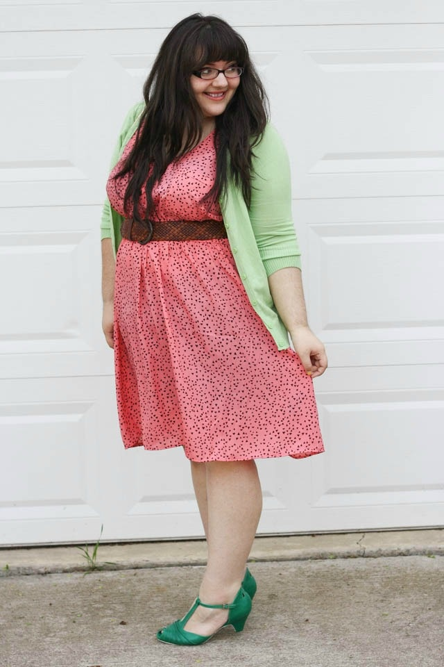 Miss Indie: Watermelon Patch outfit.  She's friggin adorable and she has a great blog!! ^_^