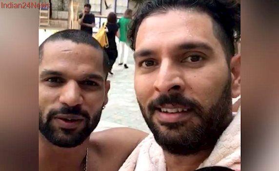 Yuvraj Singh Takes The Mickey Out Of Shikhar Dhawan On April Fool's Day