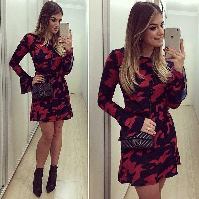 Vestidos da moda no instagram