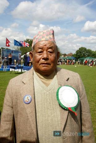Rambahadur Limbu, the only surviving Gurkhas Victoria Cross winner