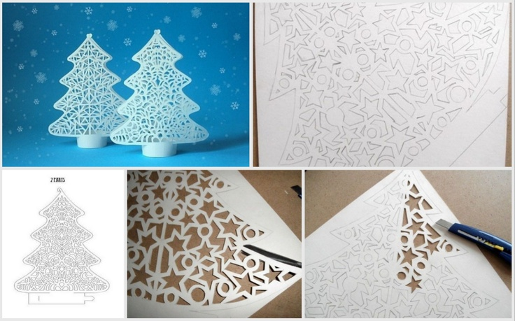 How-to Christmas paper quilling tree