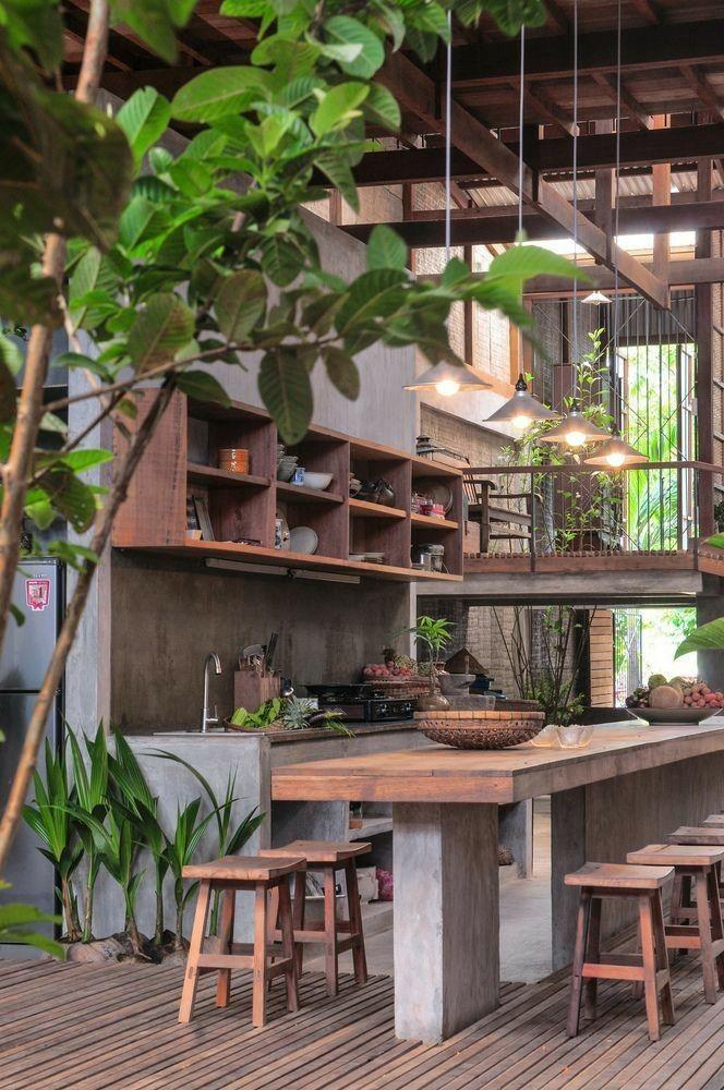 Madeira e concreto … o visual me atrai como natural? !!   – Interieur Design