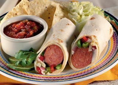 Johnsonville Chorizo Burrito