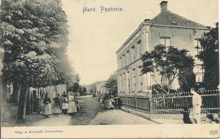 Hervormde pastorie aan het Oosteinde te Hardenberg