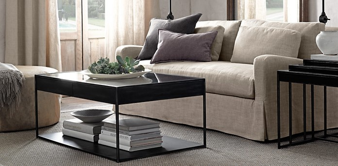 Gramercy Coffee Table | Restoration Hardware *** Love This Table | The  Vermeer | Pinterest | Restoration Hardware, Restoration And Hardware