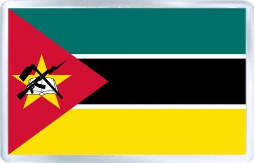 $3.29 - Acrylic Fridge Magnet: Mozambique. Flag of Mozambique