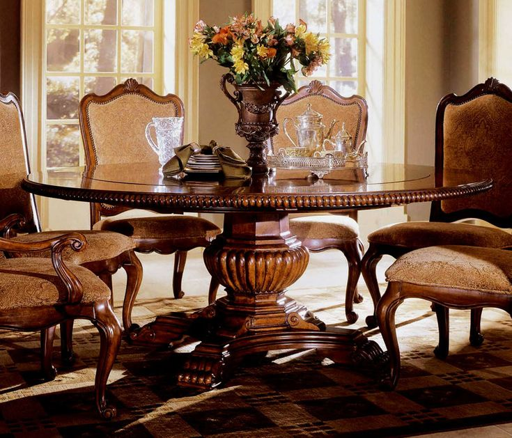 Formal Round Dining Room Tables Photos Design Ideas