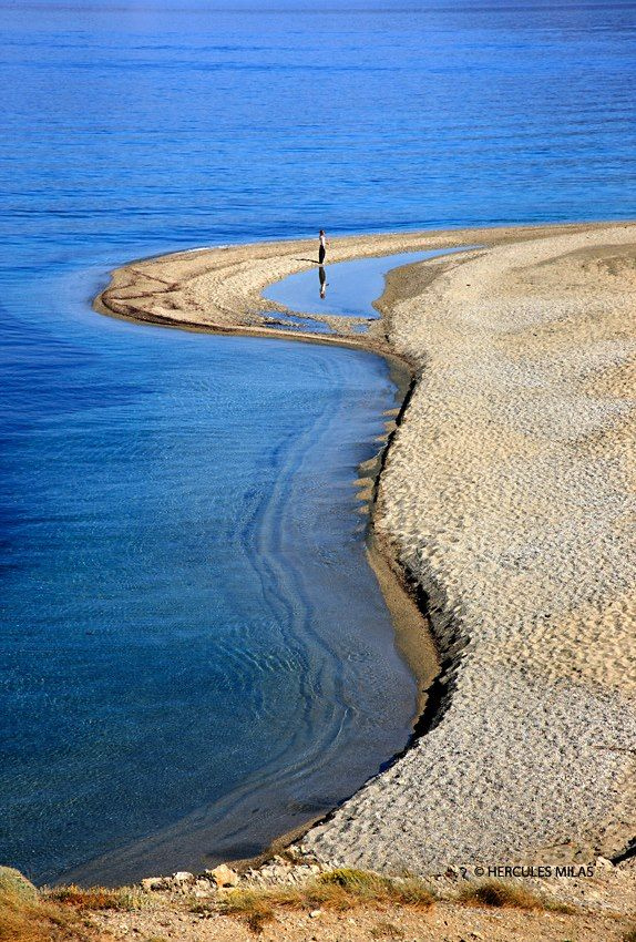"Chryssi Ammos (""Golden Sand"") beach, close to Marmari town, Evia Island / photo by Hercules Milas"