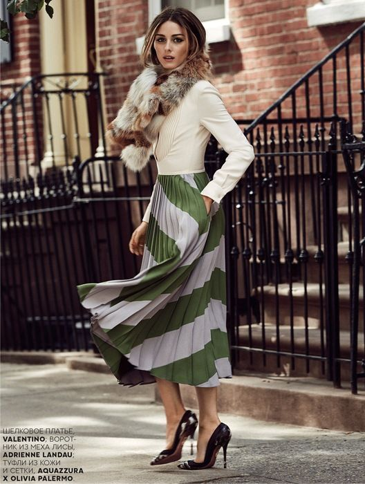 Showcasing versatile style in Vogue Russia. Street clothing. Spring fashion…