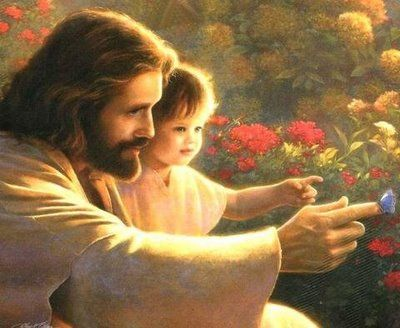 Jesus with child. www.Gods411.org