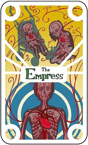 Tarot cards The Empress | Endless Deck:  by Greg Erskine