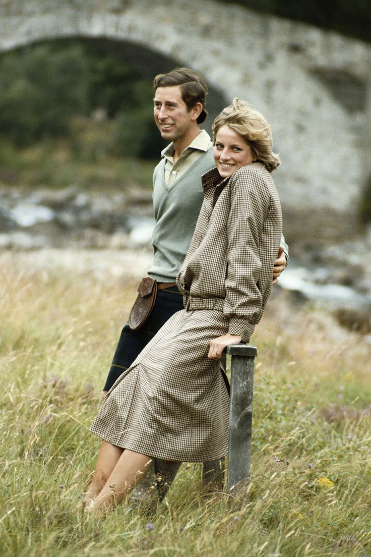 August 19, 1981: Prince Charles  Princess Diana honeymooning at Balmoral, Scotland.