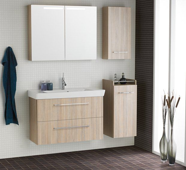 Create Extra Storage With Mirror Cabinets, Wall Cabinets And Mid Height  Base Cabinets.