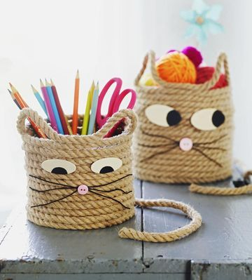 cat storage baskets